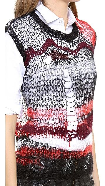 Rodarte Knit Shell Top