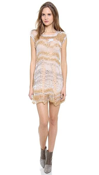 Rodarte Loose Knit Dress