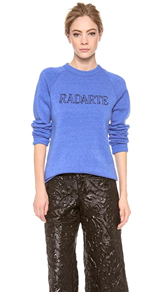 Rodarte Barbed Wire Radarte Sweatshirt