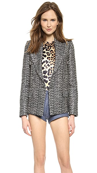 Rodarte Metallic Tweed Jacket