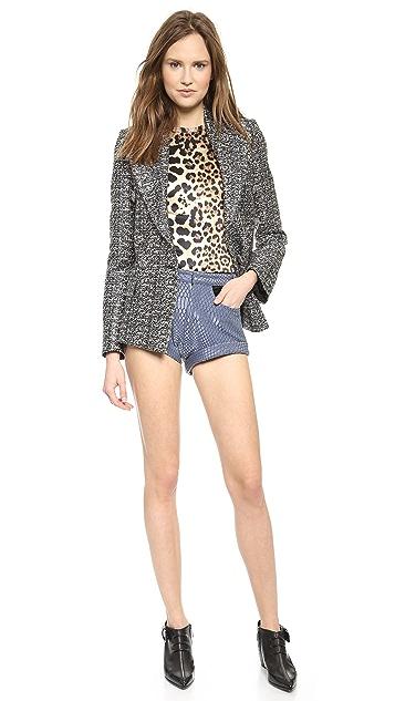 Rodarte Metallic Tweed Jacket