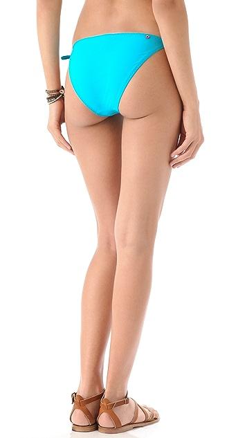 Red Carter Studio 54 Bikini Bottoms
