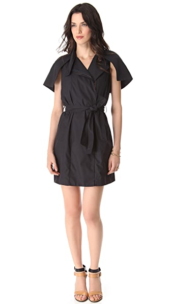 RDM by Rue du Mail Poplin Trench Dress