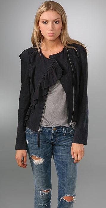Rebecca Taylor New Wave Suede Jacket