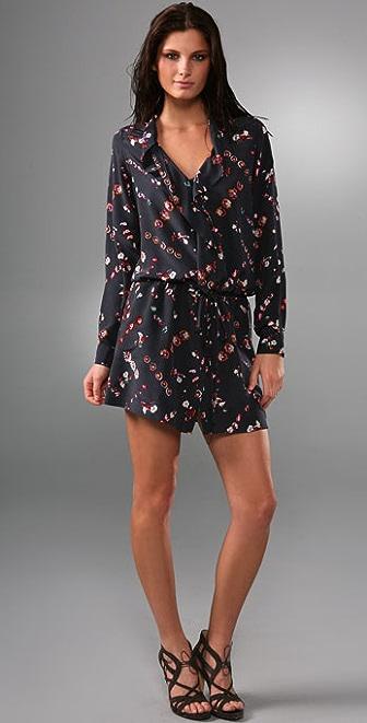 Rebecca Taylor Floral Shirtdress