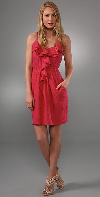 Rebecca Taylor Waterfall Ruffle Dress