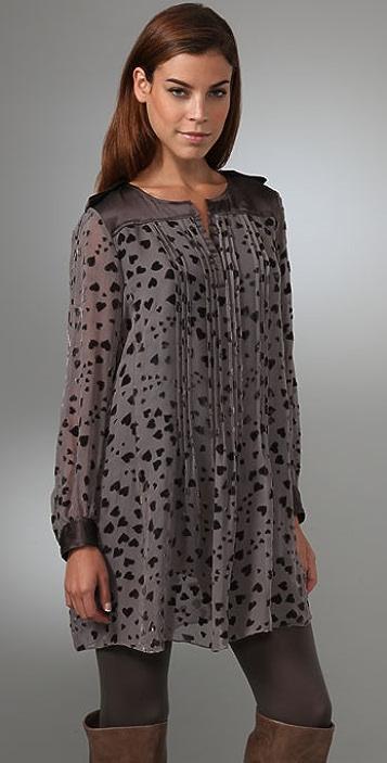 Rebecca Taylor Je t'Aime Dress