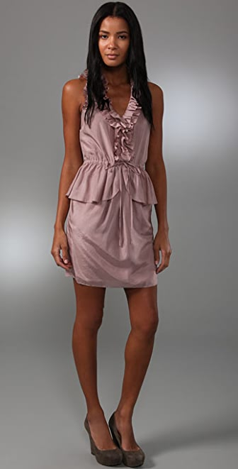 Rebecca Taylor All Ruffled Dress