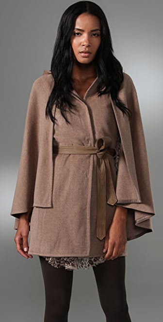 Rebecca Taylor Femme Military Cape