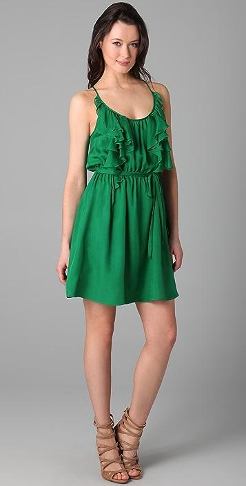Rebecca Taylor Ruffle Cami Dress