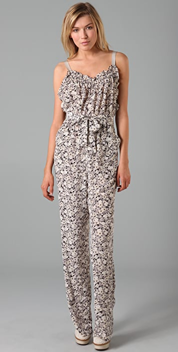 Rebecca Taylor Floral Jumpsuit