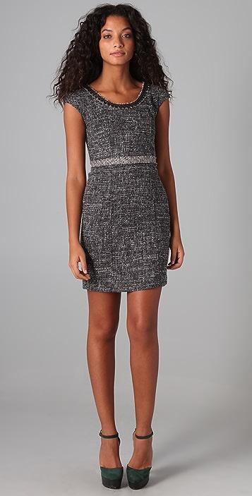 Rebecca Taylor Sequin Boucle Dress