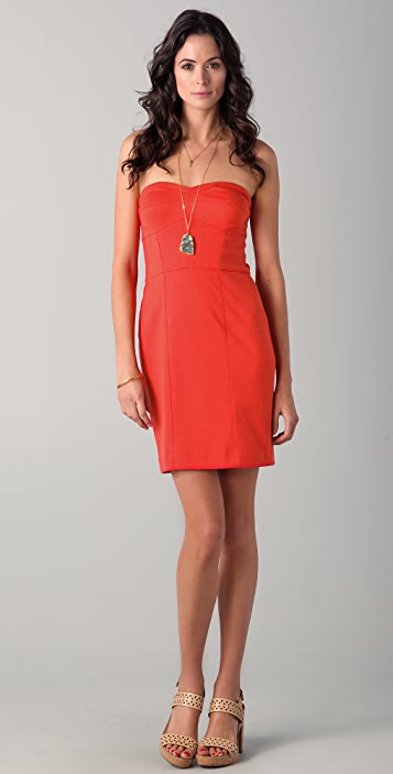 Rebecca Taylor Take Me Out Strapless Dress