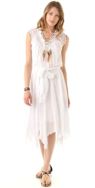 Rebecca Taylor Necklace Midi Dress