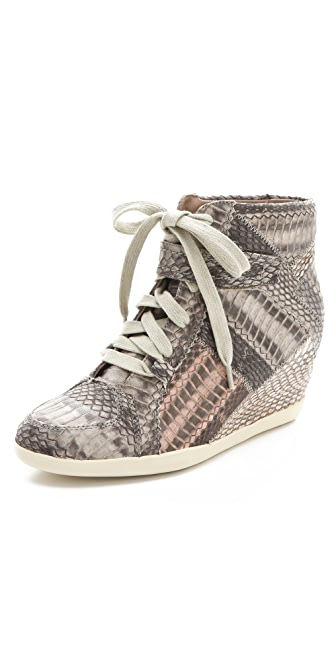 Rebecca Taylor Olympia High Top Wedge Sneakers