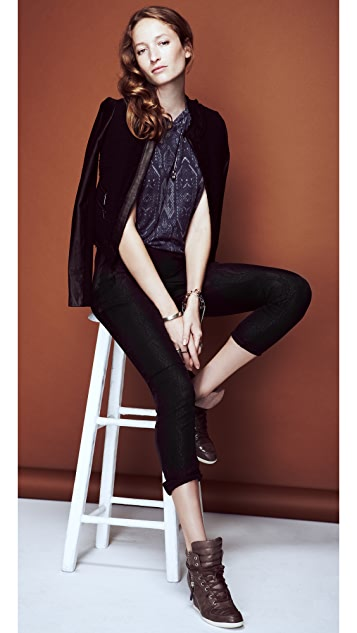 Rebecca Taylor Reptilian Trousers