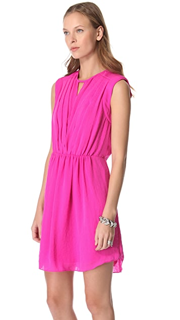 Rebecca Taylor Silk Drape Dress