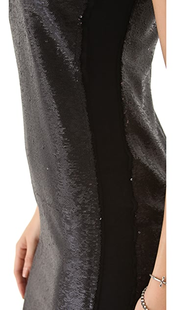 Rebecca Taylor Allover Sequin Dress