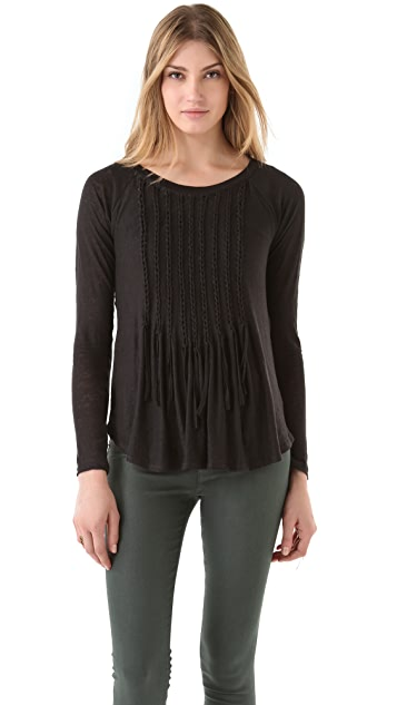 Rebecca Taylor Knotted Tee