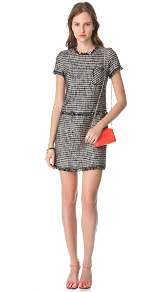 Rebecca Taylor Tweed Shift Dress