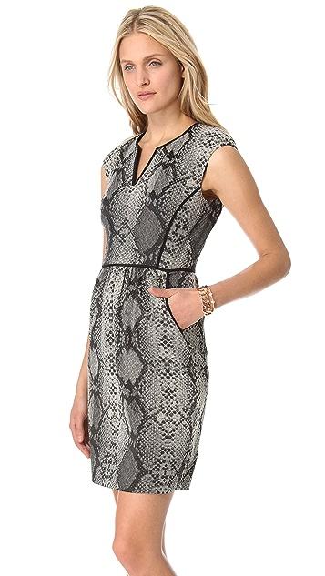 Rebecca Taylor Python Dress