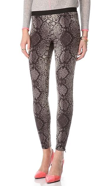 Rebecca Taylor Stretch Python Pants