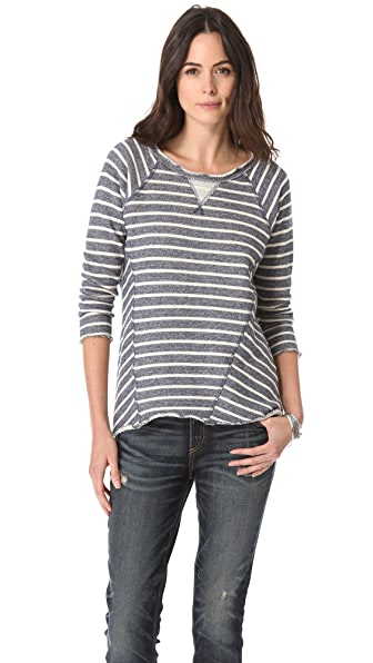 Rebecca Taylor Stripe Sweatshirt