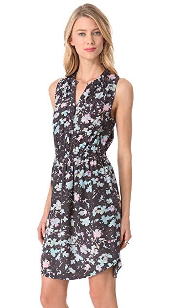 Rebecca Taylor Floral Sleeveless Dress