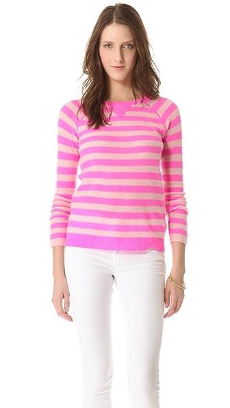 Rebecca Taylor Striped Pullover