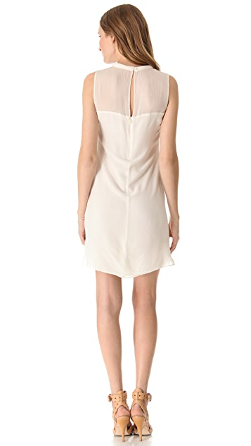 Rebecca Taylor Classic Silk Shift Dress