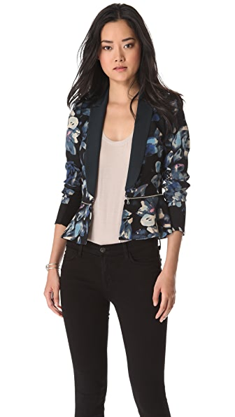 Rebecca Taylor Hawaii Zip Jacket