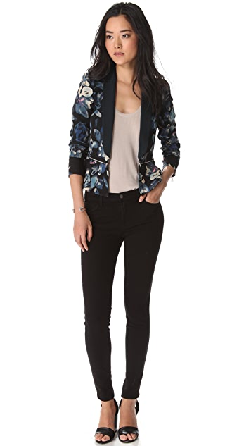 Rebecca Taylor Hawaii Zip Jacket