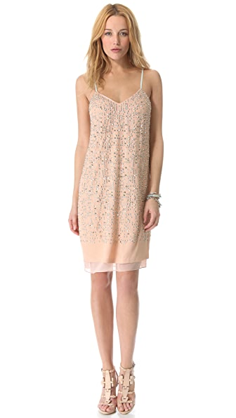 Rebecca Taylor Beaded Cami Dress
