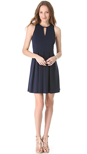 Rebecca Taylor Pleat Skirt Dress