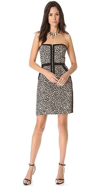 Rebecca Taylor Leo Strapless Dress