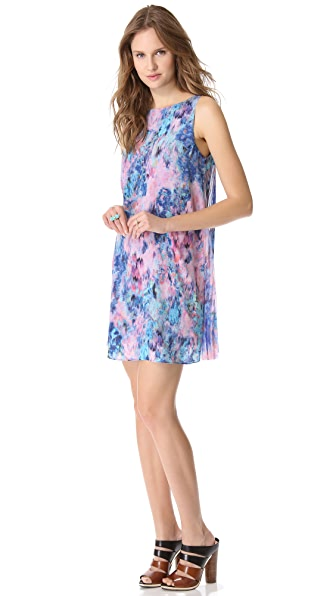 Rebecca Taylor Aurora Dress with Pleated Back