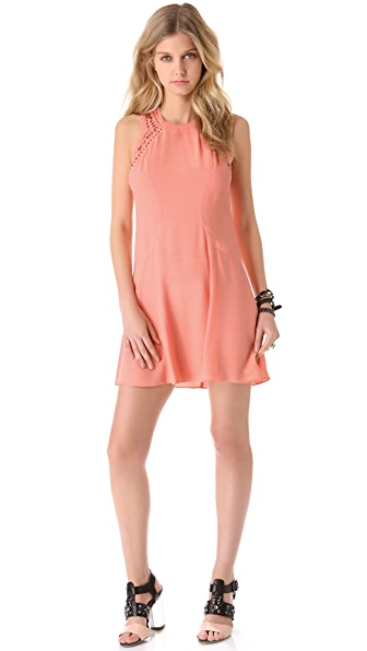 Rebecca Taylor Diamond Shift Dress