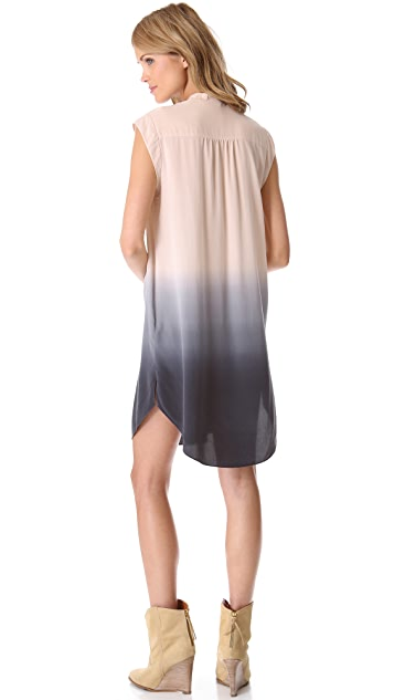 Rebecca Taylor Ombre Shirtdress
