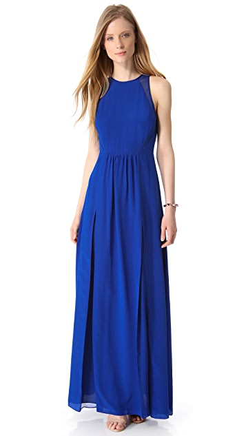 Rebecca Taylor Pieced Gown