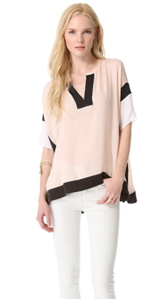 Rebecca Taylor Blocked Top