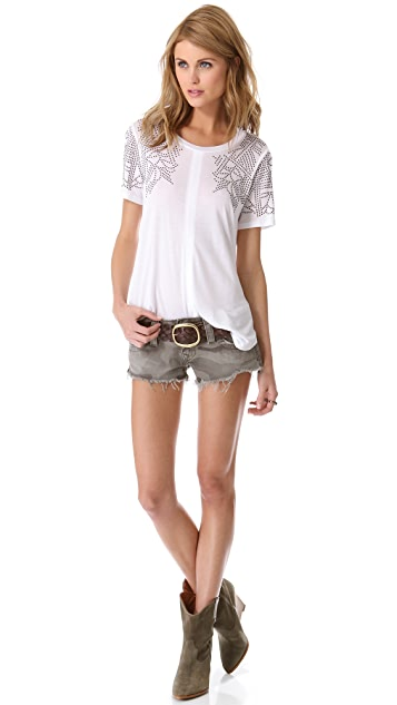 Rebecca Taylor Studded Tee