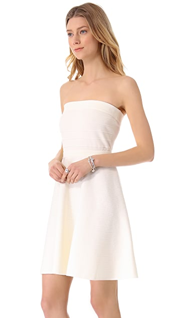 Rebecca Taylor Strapless Knit Dress