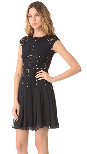 Rebecca Taylor Silk Lace T Dress