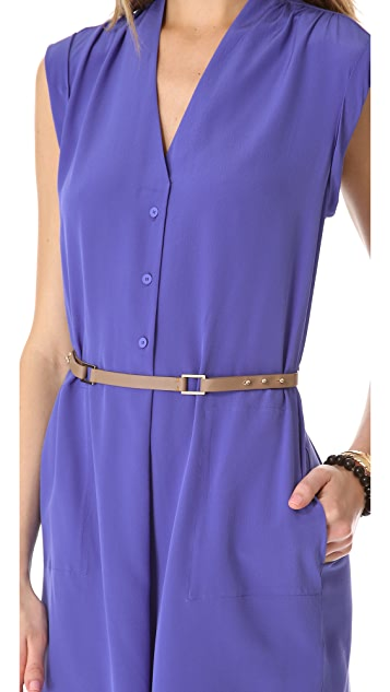 Rebecca Taylor Belted Dress