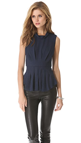 Rebecca Taylor Pleated Tank