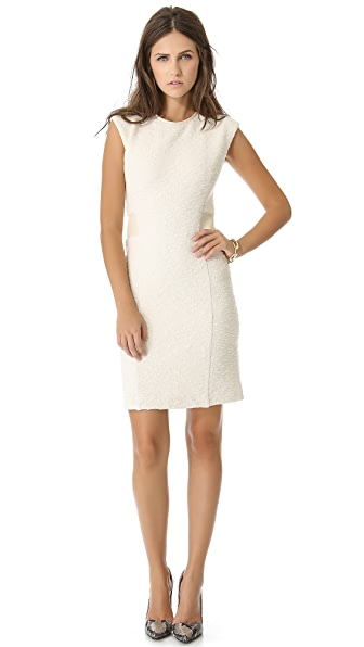 Rebecca Taylor Boucle Sheath Dress