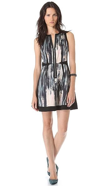 Rebecca Taylor Brushstroke Panel Dress