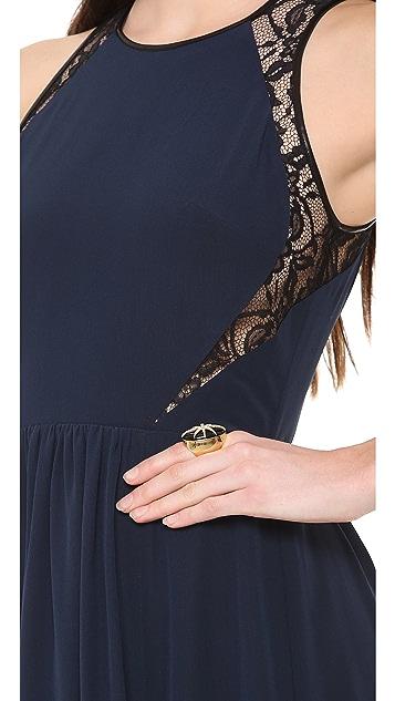 Rebecca Taylor Inset Maxi Dress