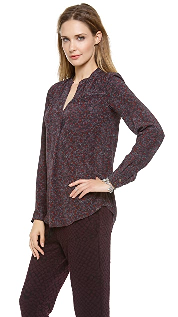 Rebecca Taylor Midway Gardens Blouse