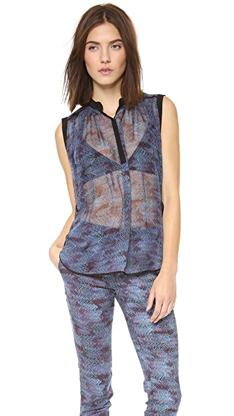 Rebecca Taylor Stained Glass Tank